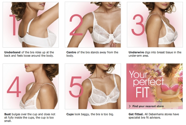 Debenhams Bra Fitting Campaign
