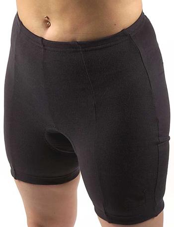 Women's padded cycling shorts