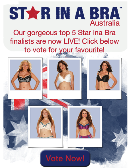 Curvy Kate Australia Star in a Bra Top 5