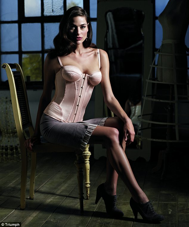 Triumph 125 Anniversary Vintage Corset Collection