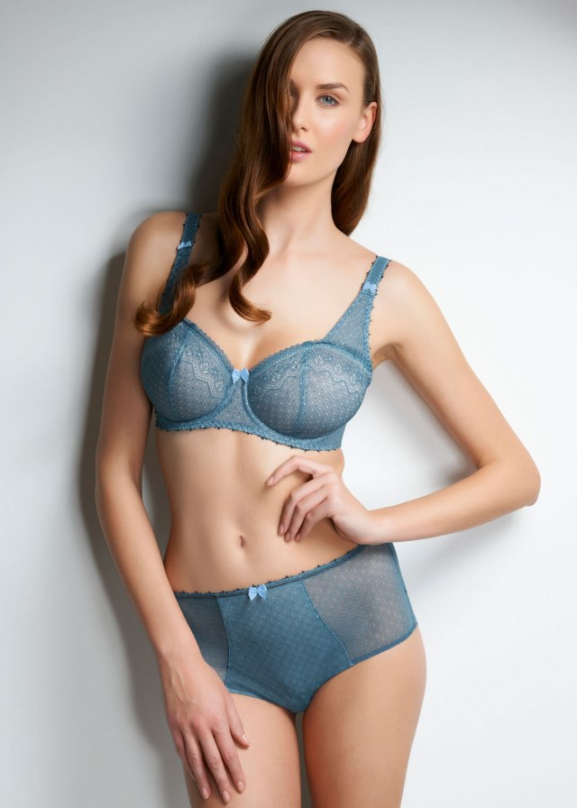 Gem China Blue Bra by Freya Lingerie