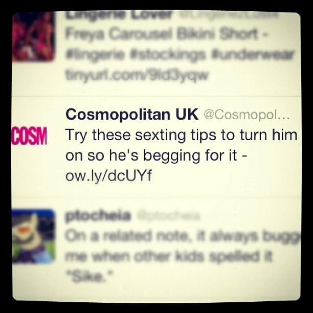 Cosmopolitan Twitter