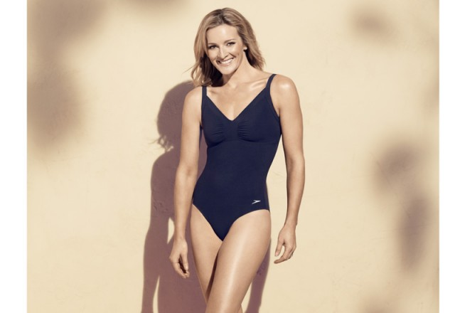 Gabby Logan Speedo